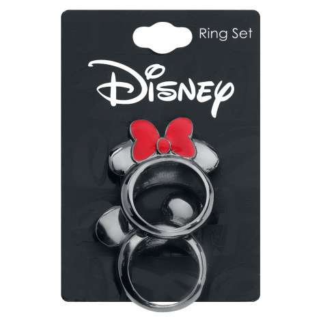 Mickey Mouse - Mickey and Minnie - Ring - black