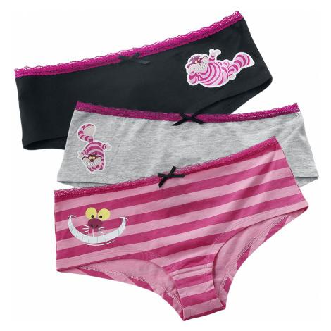 Alice in Wonderland - Cheshire Cat - Girls underwear - pink