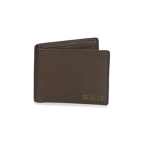 Quiksilver NEWCLASSPLUSIII men's Purse wallet in Brown