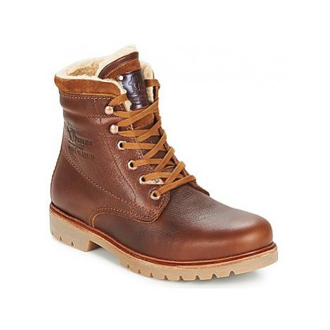 Panama Jack PANAMA men's Mid Boots in Brown