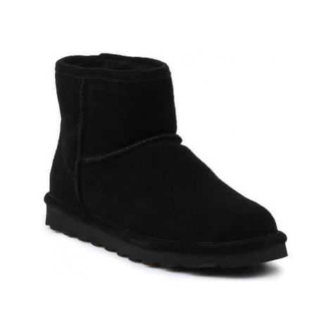 Bearpaw Alyssa 2130W-011 Black II women's Mid Boots in Black