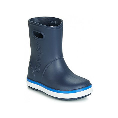 Crocs CROCBAND RAIN BOOT K girls's Children's Wellington Boots in Blue