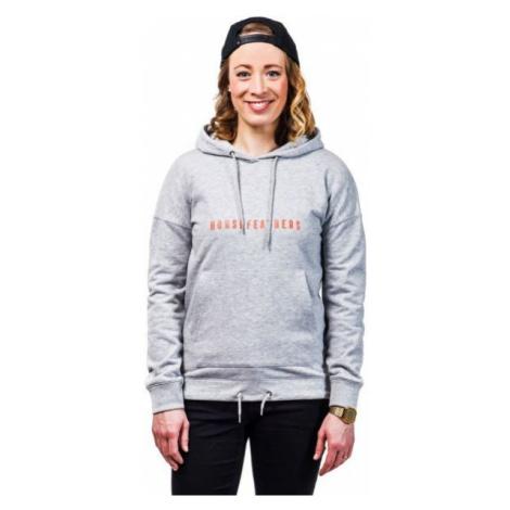 Horsefeathers SAGA SWEATSHIRT grey - Women's hoodie