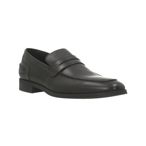 Geox U PERICLE men's Loafers / Casual Shoes in Black