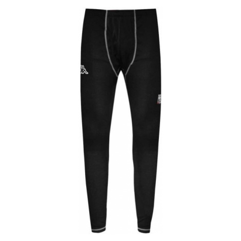 Kappa 4SKIN FUNCTIONAL PANT YTH black - Children's functional pants