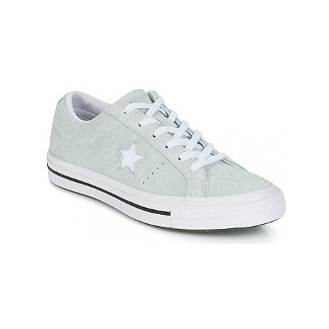 Converse One Star women's Shoes (Trainers) in Green