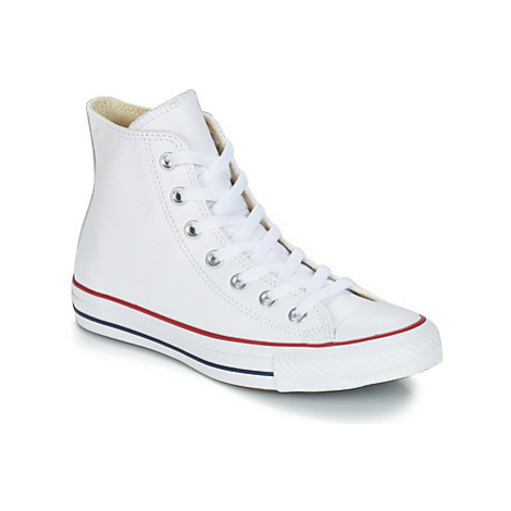 Converse ALL STAR LEATHER HI women's Shoes (High-top Trainers) in White
