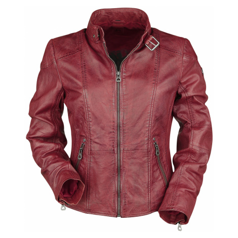 Gipsy - Kina LEGV - Girls leather jacket - red