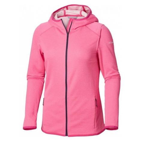 Columbia CABANON CREEK FZ HOODIE pink - Women's hoodie