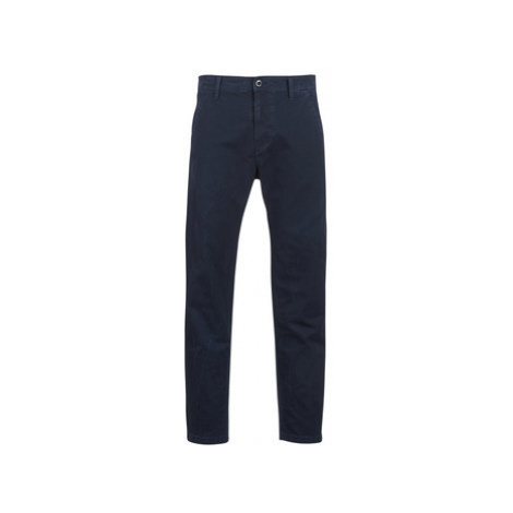 G-Star Raw BRONSON STRAIGHT TAPERED CHINO men's Trousers in Blue
