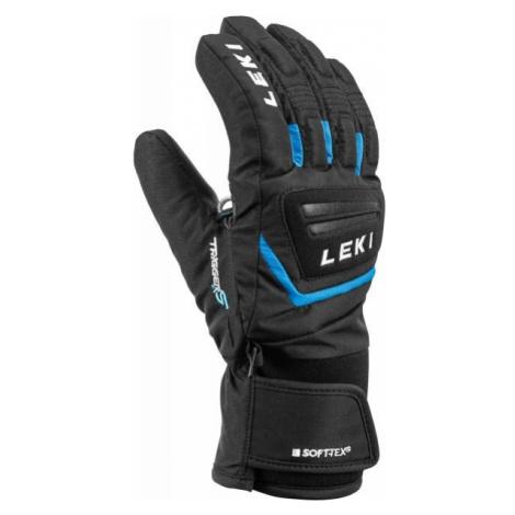 Leki JR GRIFFIN S black - Children's ski gloves