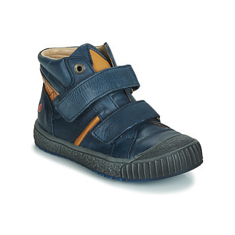 GBB RAIFORT boys's Children's Shoes (High-top Trainers) in Blue