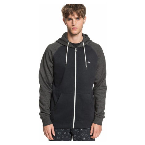 sweatshirt Quiksilver Everyday Zip - KVJ0/Black - men´s