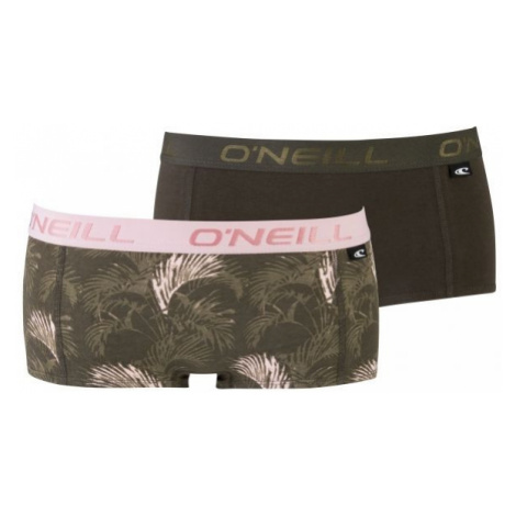 O'Neill HIPSTER WITH DESIGN 2-PACK brown - Women's underpants