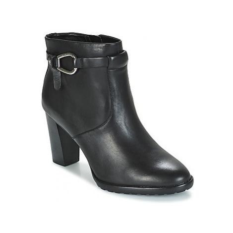 Lauren Ralph Lauren LALETTA women's Low Ankle Boots in Black