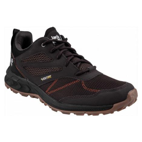 Jack Wolfskin WOODLAND VENT LOW black - Men's hiking shoes
