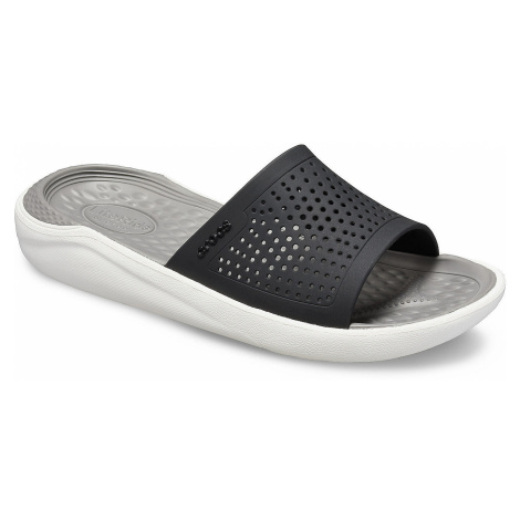 shoes Crocs LiteRide Slide - Black/Smoke