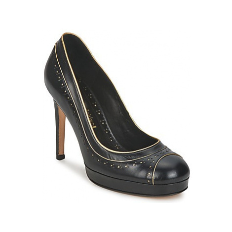 Sarah Chofakian SUZANNE women's Court Shoes in Black
