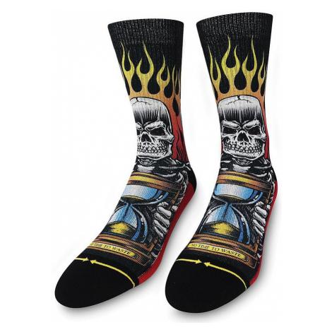 socks Merge4 Jimbo No Time To Waste - Red