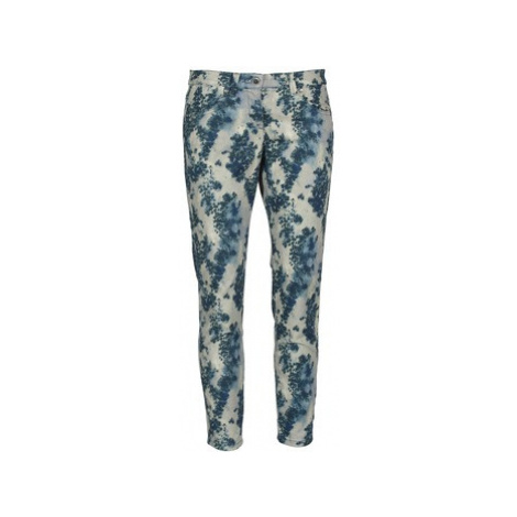 Sisley 4M59X71M6 women's Cropped trousers in Blue