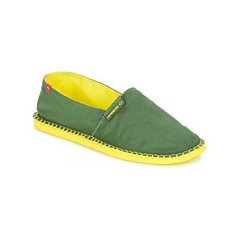Havaianas ORIGINE II women's Espadrilles / Casual Shoes in Green