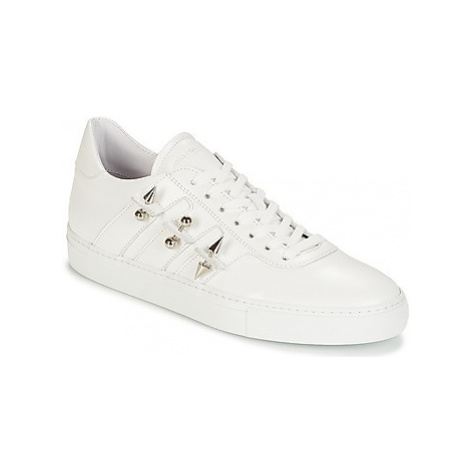 John Galliano 4722 men's Shoes (Trainers) in White