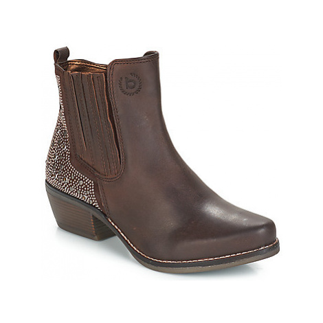 Bugatti LATESUI women's Low Ankle Boots in Brown