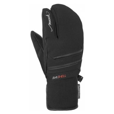 Reusch TOMKE STORMBLOXX LOBSTER black - Ski gloves
