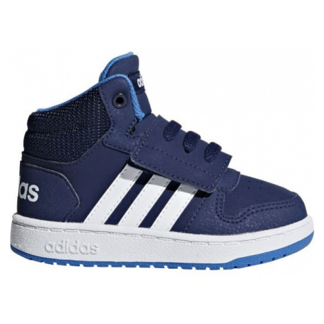 adidas HOOPS MID 2.0 I dark blue - Children's leisure shoes