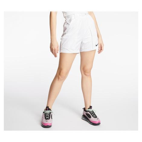 Nike Sportswear Swoosh Woven Shorts White/ Black