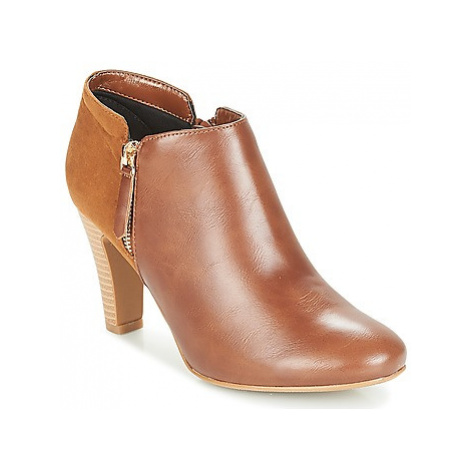 Moony Mood FADI women's Low Boots in Brown
