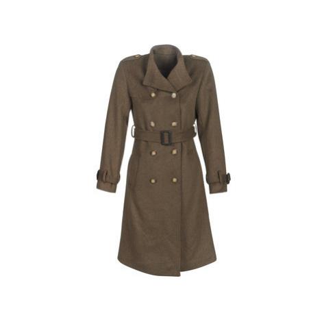 Betty London LIPIUS women's Coat in Brown