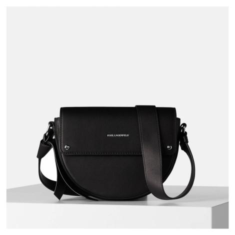 KARL LAGERFELD Women's K/Ikon Cross Body Bag - Black