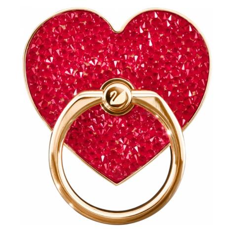 Glam Rock Ring Sticker, Red, Mixed plating Swarovski