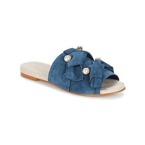 KG by Kurt Geiger NAOMI-BLUE women's Mules / Casual Shoes in Blue KG Kurt Geiger