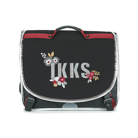 Ikks BLACK TEA CARTABLE 41 CM girls's Briefcase in Black