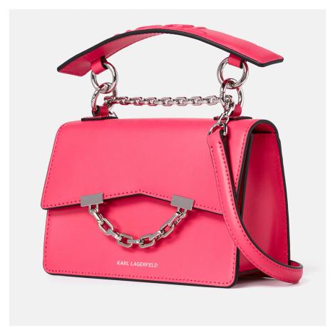 KARL LAGERFELD Women's K/Karl Seven Mini Shoulder Bag - Peony Pink