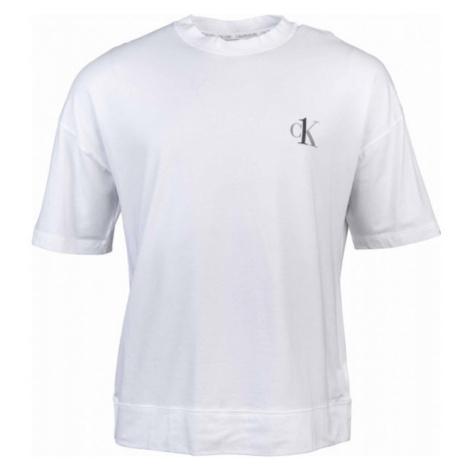 Calvin Klein S/S CREW NECK white - Men's T-Shirt