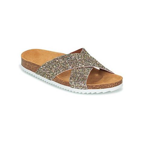Le Temps des Cerises FALONE women's Mules / Casual Shoes in Gold