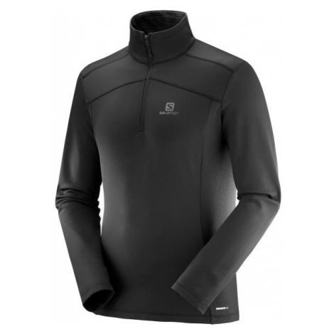Salomon DISCOVERY LT HZ M black - Men's sweatshirt