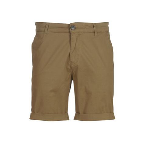 Selected SLHSTRAIGHTPARIS men's Shorts in Beige