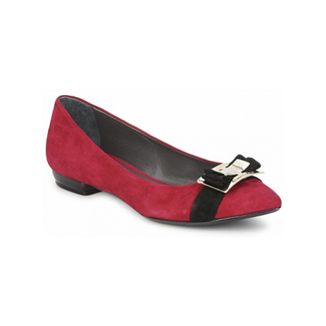 Alberto Gozzi CAMOSCIO RUBINO women's Shoes (Pumps / Ballerinas) in Red