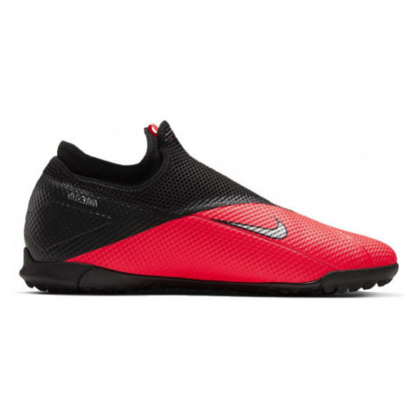 Nike PHANTOM VSN 2 ACADEMY DF TF red - Men's turf football boots