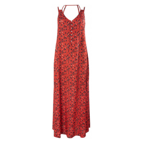 O'Neill LW BELINDA AOP LONG DRESS red - Women's dress