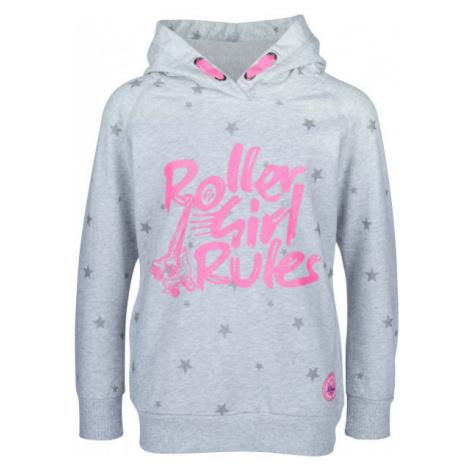 Lewro ALZIE grey - Girls' sweatshirt