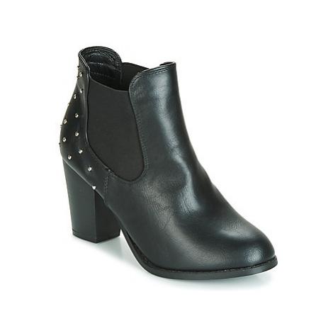 Moony Mood JURDEAN women's Low Ankle Boots in Black