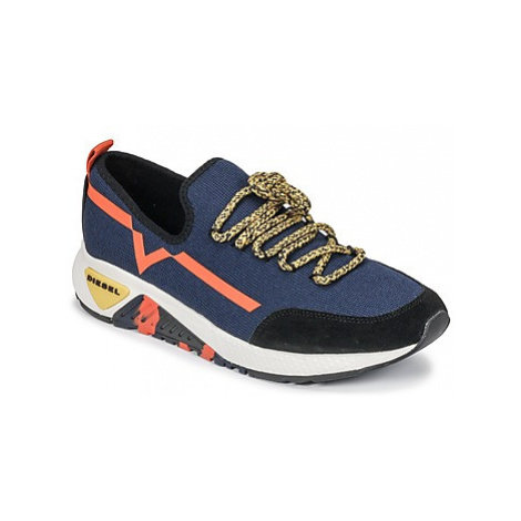 Diesel S-KBY men's Shoes (Trainers) in Blue