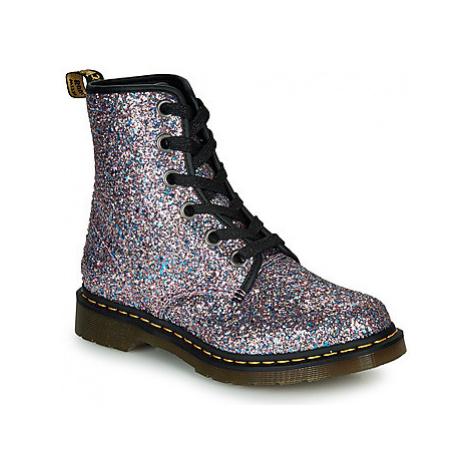 Dr Martens 1460 Farrah 6 Eye Boot women's Mid Boots in multicolour