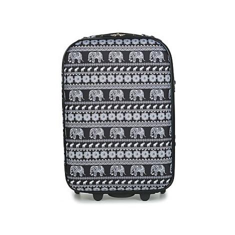 David Jones ODOVACAR 35L men's Soft Suitcase in Black