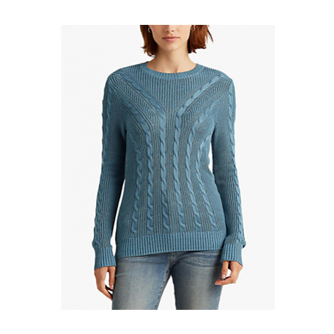 Lauren Ralph Lauren Venkada Long Sleeve Sweater, Blue